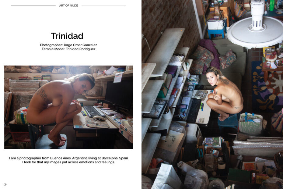 Trinidad Rodriguez Art of portrait magazine