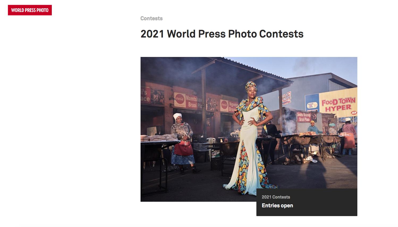 2021 World Press Photo Contests
