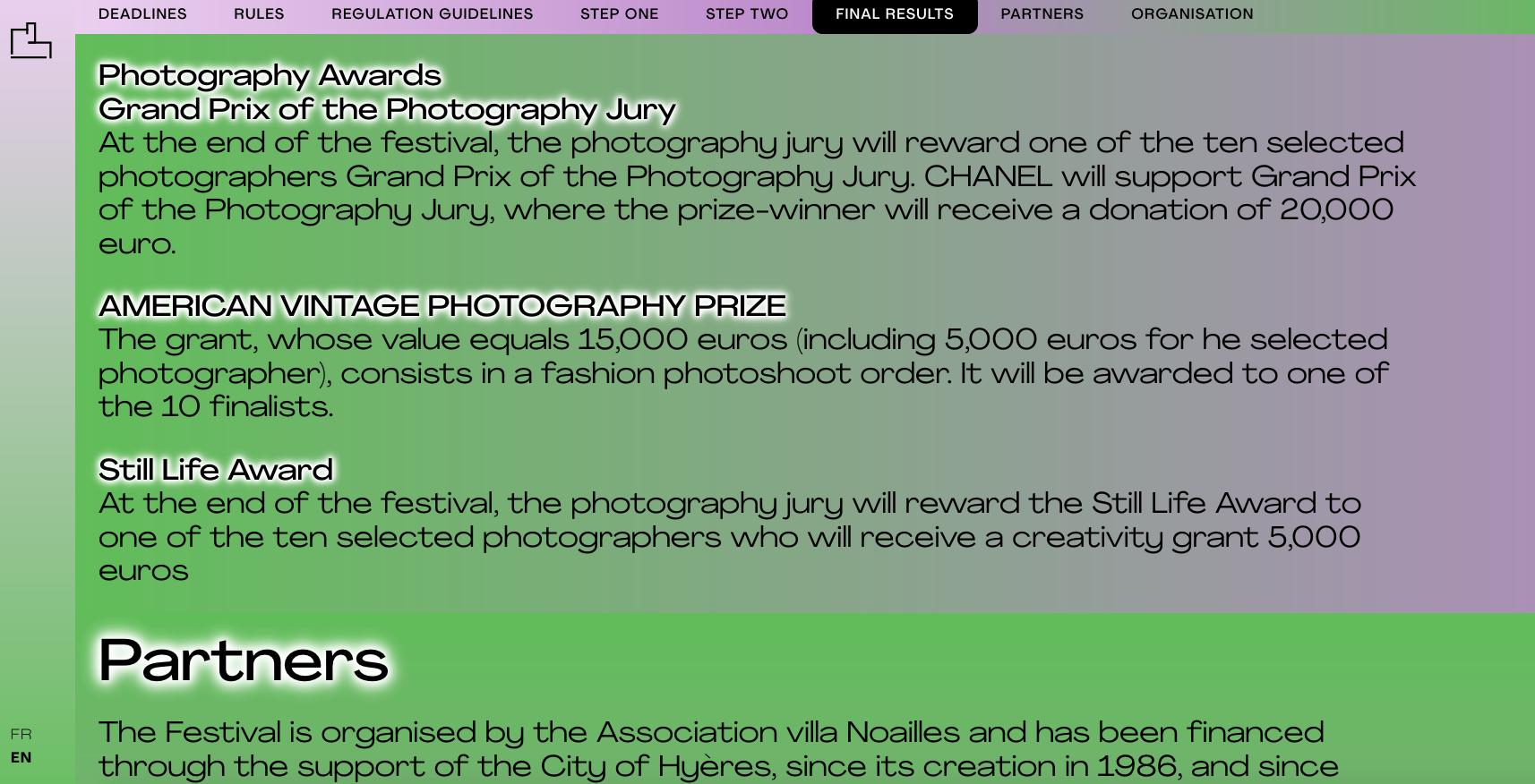 Festival Internacional de Moda y Fotografía de Hyères
