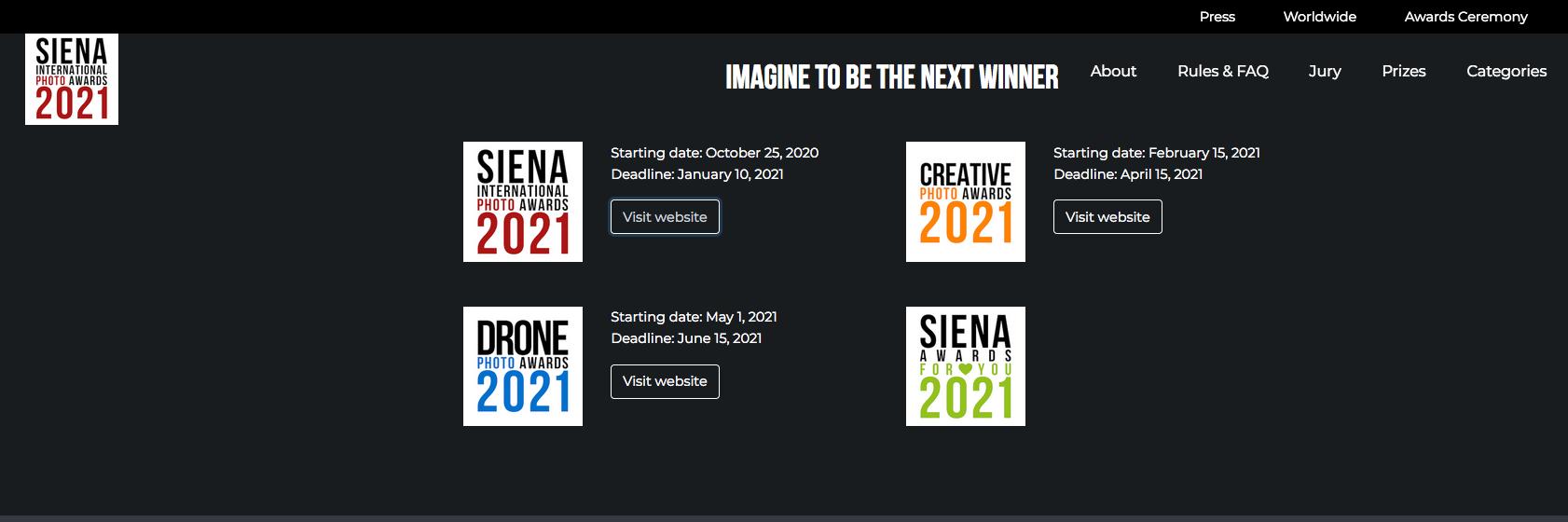 Concurso de Fotografía Siena Italia