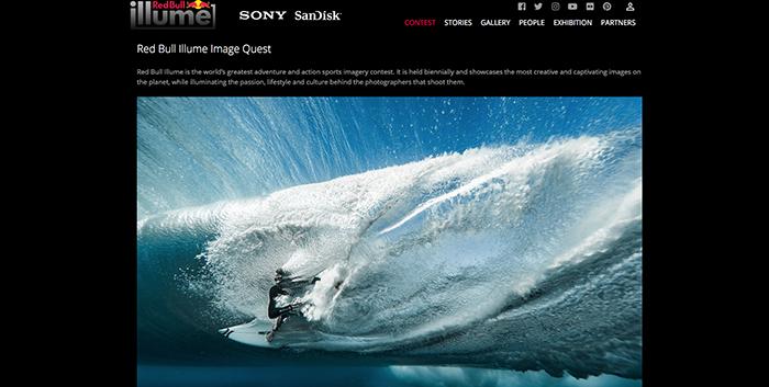 Red Bull Illume concurso de fotografía